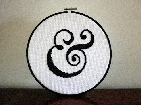 ampersand cross stitch (2)