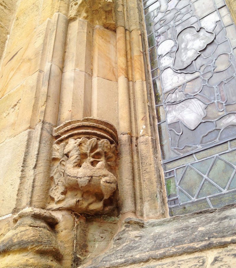 Rosslyn Chapel Camel Carving