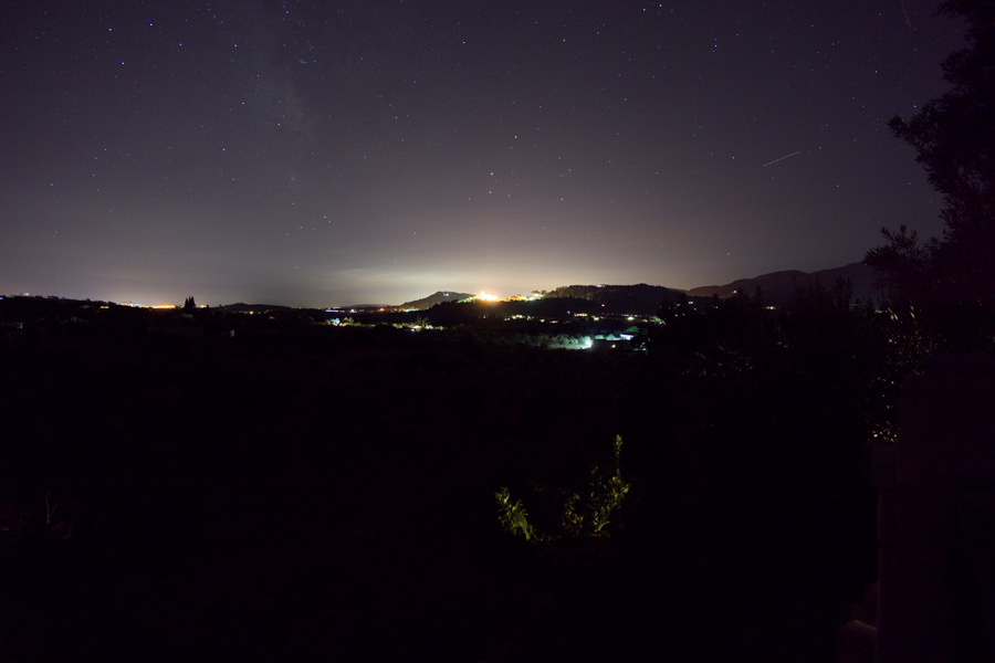 Selva Mallorca at Night