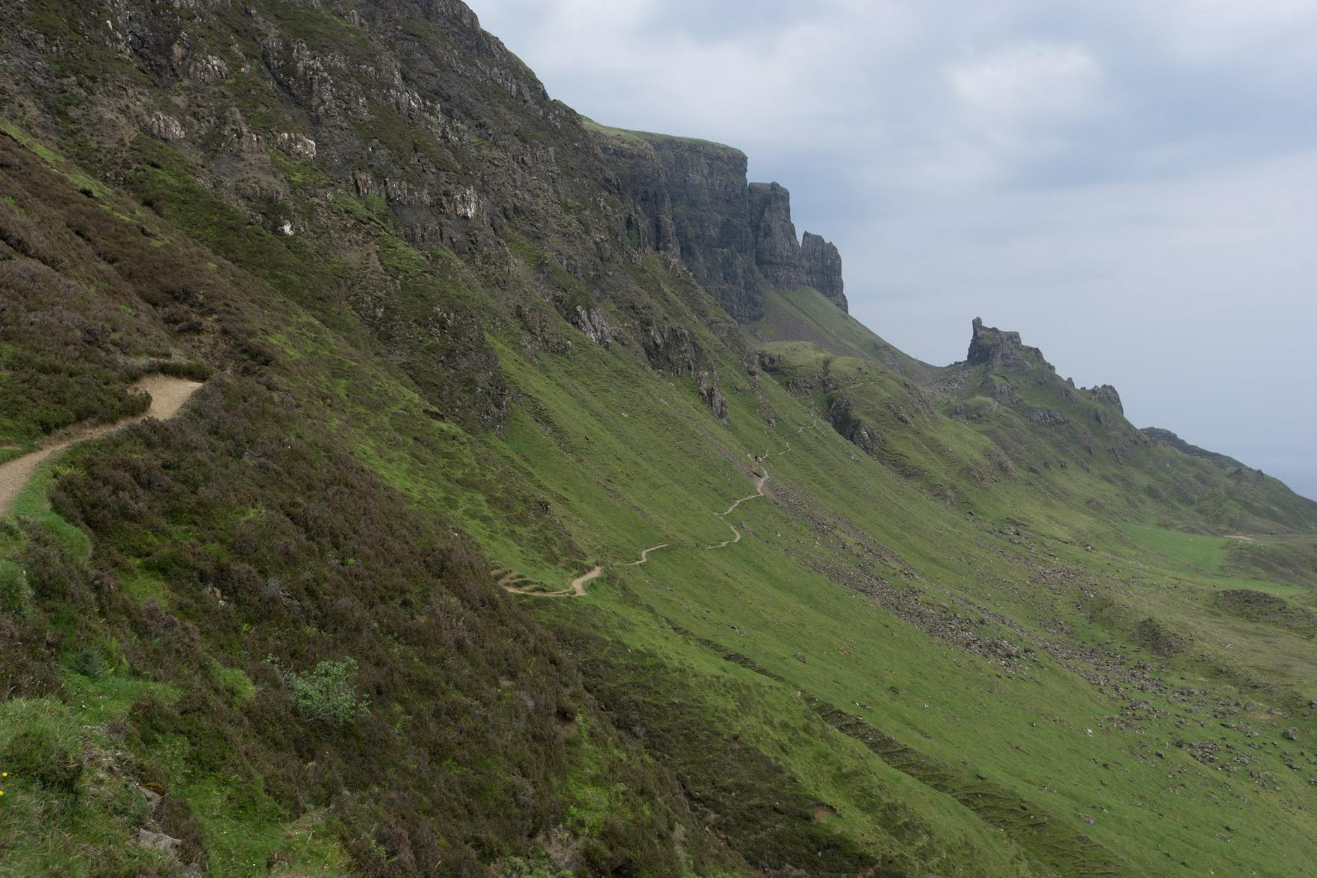 Quiraing Path, Skye